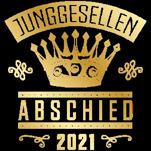 Junggesellenabschied 2021 Krone Gold