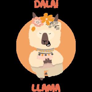 Dalai Llama YOGA Lustiges Design