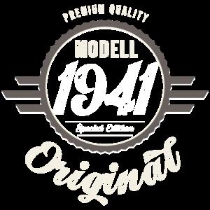 Modell 1941 Original Oldtimer Badge 80 Geburtstag