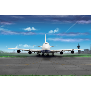 boeing 747 poster