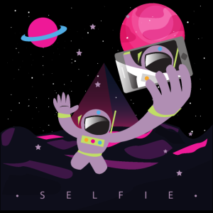 Selfie im Weltraum