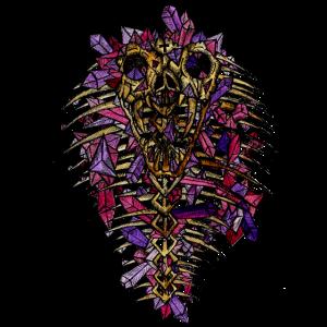 Kristall-Kobra gruselig