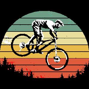 Mountainbike Downhill heizen MTB Fahrer Geschenk