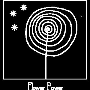 Blume Lolli Flower Power Boho Hippie Geschenk