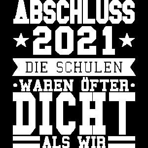 Abschluss 2021 lustig