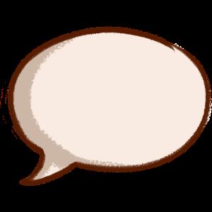 Sprechblase speech bubble bulle Spruch Kommentar