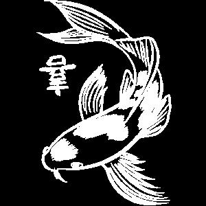 Kanji-Karpfen