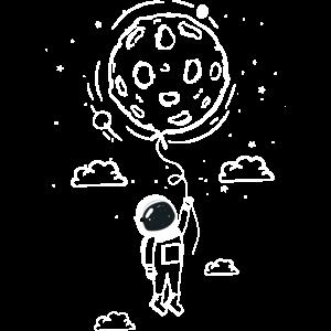 Moon Swing Astronaut Stars Space Man Funny