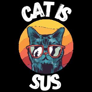 Cat is sus