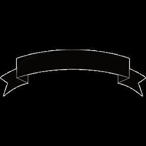 Banner Wimpel schwarz