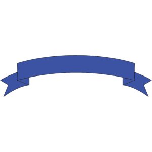 Banner blau