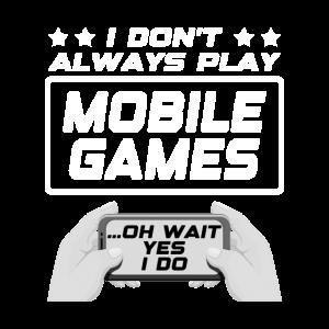 Mobile Games, Gamer, Zocker, Gaming Geschenkidee