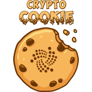 Crypto Cookie - IOTA - BTC, Bitcoin - Keks