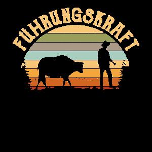 Führungskraft Landwirt Kuh Kühe Farmer Geschenk