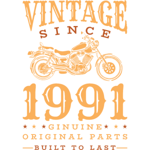 Vintage 1991 91 Geburtstag Retro Jahrgang Geschenk