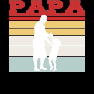 Retro Papa Tshirt