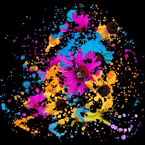 muster - blau - geometrie - farbe - struktur