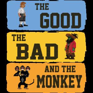 The Good The Bad The Monkey Vintage Island Geschen