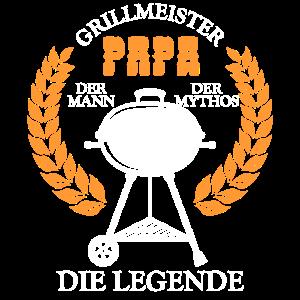 Grillmeister Papa Mann Geschenkidee