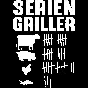 Lustiges Grillmeister Geschenk - Serien Griller
