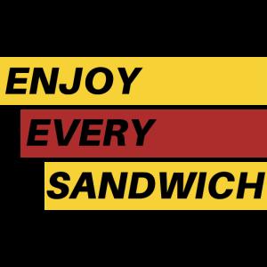 Genießen Sie jedes Sandwich