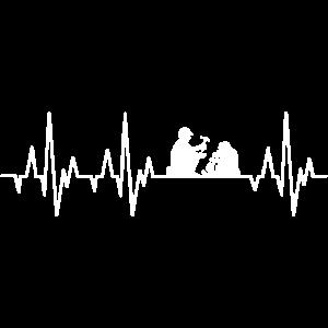 Geologe Herzschlag Geologie EKG Geologen