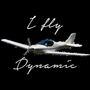 I fly Dynamic WT9 Ultraleichtflugzeug