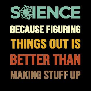 Wissenschaft Wissenschaftler Spruch