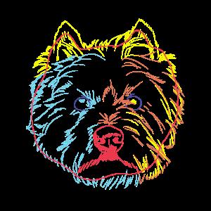 Bunter West Highland White Terrier Hund