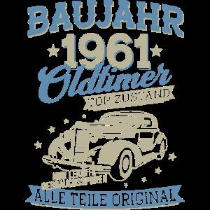 Baujahr 1961 Oldtimer 60 Jahre Geburtstag
