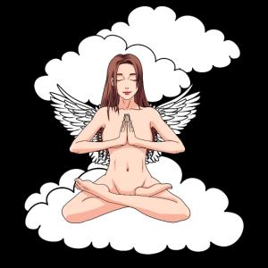 Himmlisch Engel Wolken Himmel Fantasy Gebet