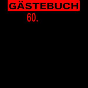 60. Geburtstag I Runder Geburtstag Geschenk Idee