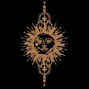 Boho Sonne & Boho Mond Himmlisch