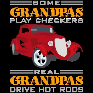 Opa fährt Hot Rods