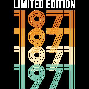 Vintage Limited Edition1971 Geburtstag Geburtsjahr
