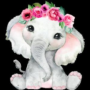 Lustiges Elefanten Baby Geschenk Geburtstag