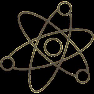 Atom Elektron Geschenk