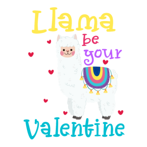 Llama Be Your Valentine