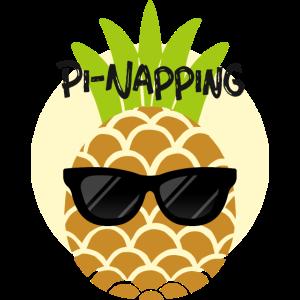 Pi-Napping, Pineapple Design. Ananas