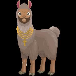 Alpaka Sqaud lustig Tiere Lama