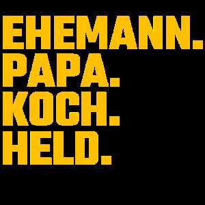 Koch Ehemann Geschenk