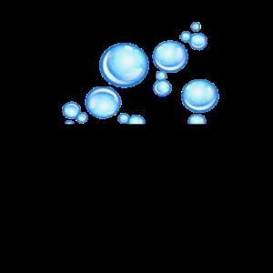 Brusttasche Luftblasen Design