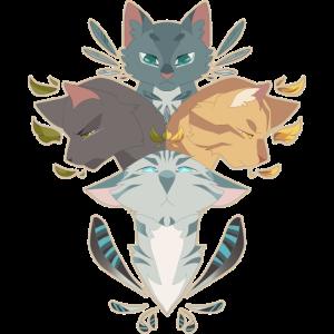 Jayfeather Häherfeder Katze Grau Warrior Cats