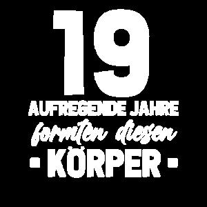19. Geburtstag Geschenkidee 19 Jahre Alt Geschenk