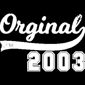 Vintage Original since 2003 Geburtstag Retro