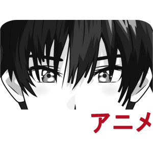 Anime Boy Face Motiv Manga Japan Cartoon Idee