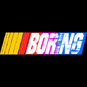 boring nascar race