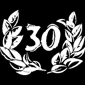 30 anniversary years birthday jubiläum