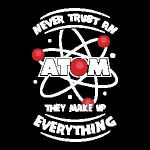 Physik Chemie Atom Physiker Chemiker Geschenk