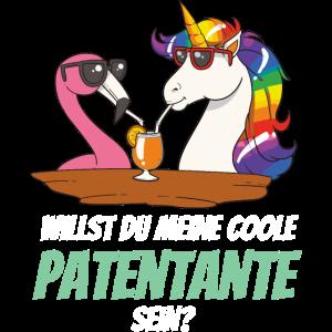 Geschenk für Patentante Patenkind T-ShirtTaufpatin